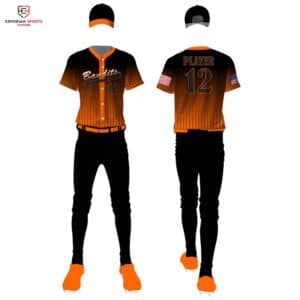 sublimated baseball uniform builder