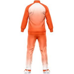 Fleece football training tracksuit backside