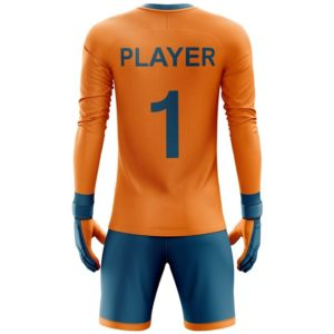 custom goalkeeper jerseys backside