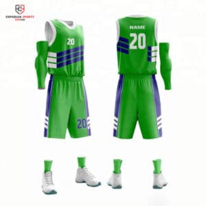 custom youth basketball uniforms