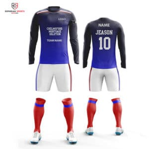custom soccer goalkeeper uniform