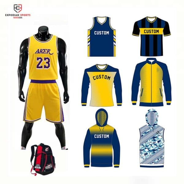 sublimated basketball uniform packages