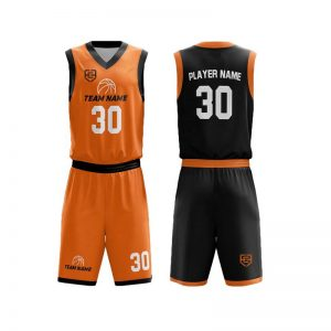 sublimated reversible basketball uniforms