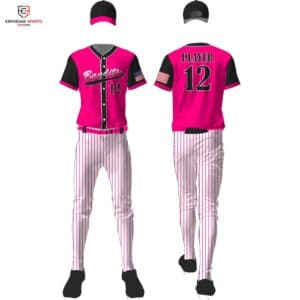 youth sublimated baseball uniforms