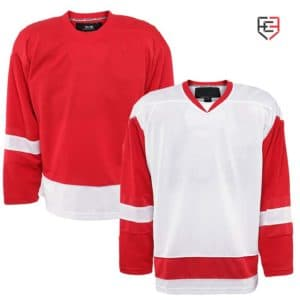 High quality full sleeve custom ice hockey jersey