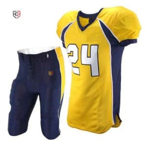 custom sublimated football uniforms
