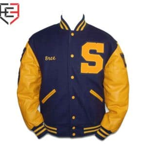 custom high school letterman jacket