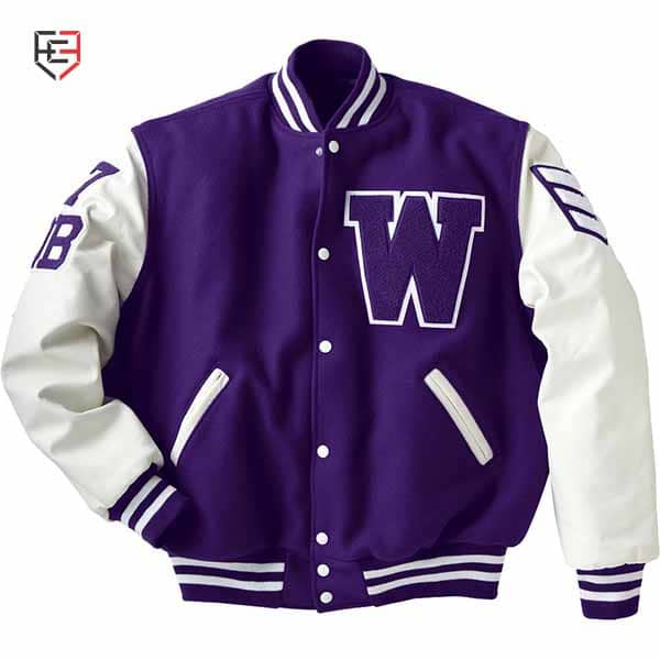 custom letterman jackets with leather sleeves
